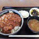 岐阜県恵那市明智町、庵 (いおり)の大正カツ丼という珍しいメニュー