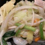 広島市西区横川にある桃園の中華丼はデカ盛り過ぎて大満足
